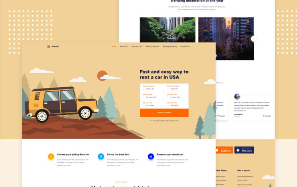 ePress Charity NodeJS Html Template