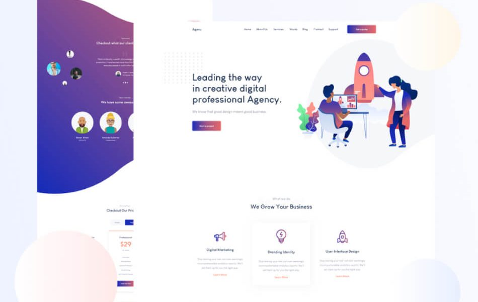 Contractor  Architecture WordPress Theme