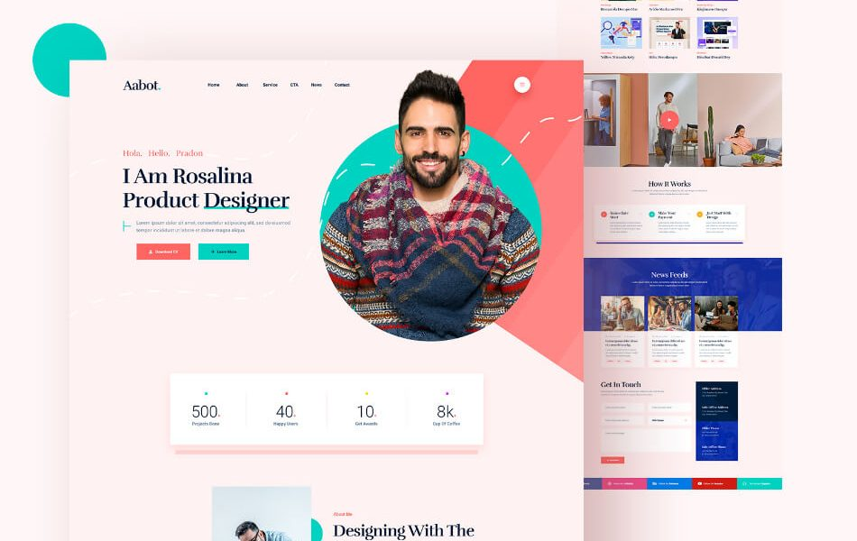 Hodil WordPress Theme